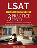LSAT Practice Exam Prep Book: 3 LSAT Practice Tests with Detailed Practice Question Answer Explanations for the Law School Admission Council's (LSAC) Law School Admission Test