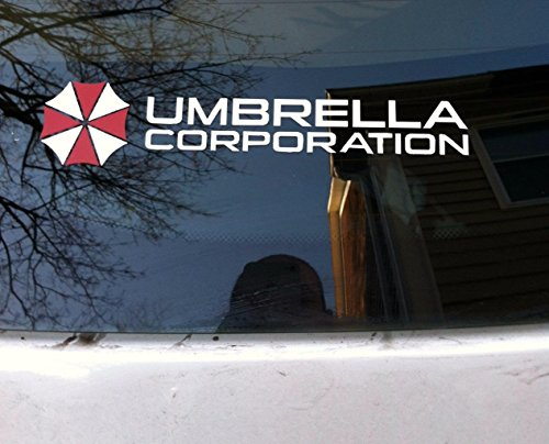 Resident Evil Umbrella Corporation Vinyl Decal Stickers Size 8 X 2