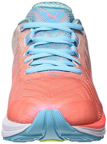 Peach para Deporte nrgy Zapatillas Nrgy para Naranja Ignite Exterior 600 Puma white Speed Turquoise de Mujer 2 1wx06BO4q