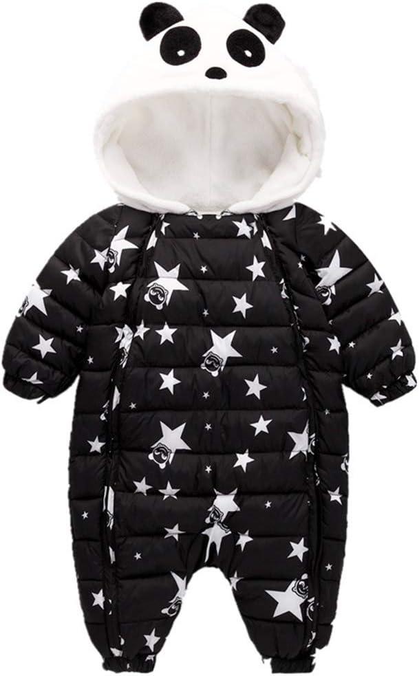 Mono de Nieve Bebés, Mameluco de Invierno Lindo Panda Pijama Peleles con Capucha: Amazon.es: Bebé