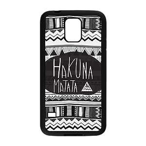 JIUJIU Hakuna Matata Fashion Comstom Plastic case cover For Samsung Galaxy S5