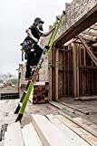 Little Giant Ladders, King Kombo, Industrial, 6 Ft. A Frame, 10 Ft. Extension, Ground Cue, V-bar, Fiberglass, Type 1AA, 375 lbs weight