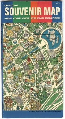 Official Souvenir Map New York World's Fair 1964 / 1965: Editors Of on