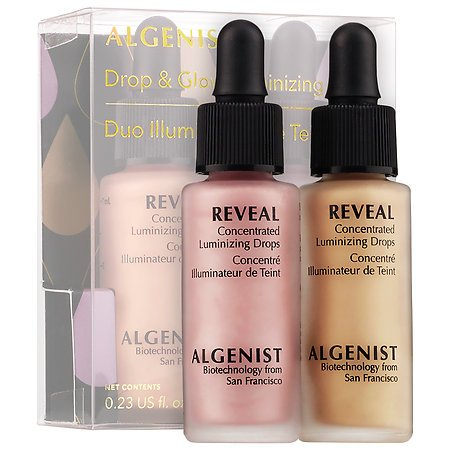 Algenist Drop and Glow Luminizing Duo