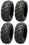 Full set of ITP Blackwater Evolution 30x10-14 ATV Tires (4)