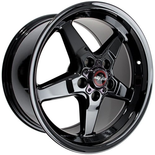 Race Star (2005-2014 Mustang Race Star Dark Star Black Chrome 15x10 7.25bs)