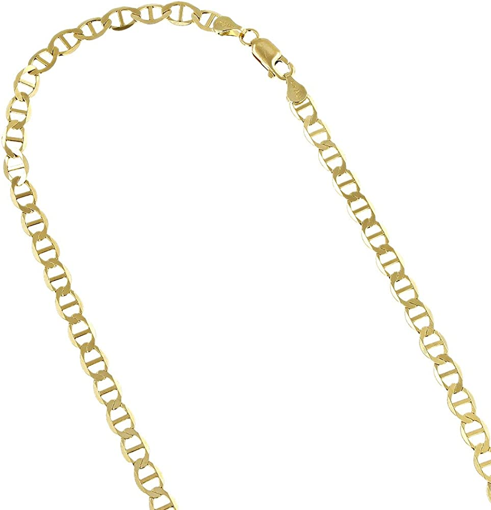 Details about  /Men/'s 13mm Wide Jumbo Mariner Link Necklace Chain Silver Plated 30in Inch Long