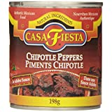 Casa Fiesta Whole Chipotle Peppers 198ml