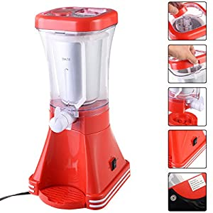 MasterPanel - Slush Drink Maker Retro Machine Blender Ice Slushie Margarita Slurpee Frozen #TP3386