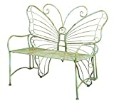 Gifted Living Whimsical Verdi Butterfly Metal Bench - Best Reviews Guide