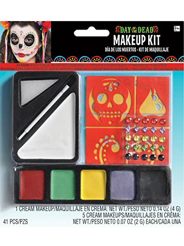 Day of the Dead Makeup Kit Costume -
