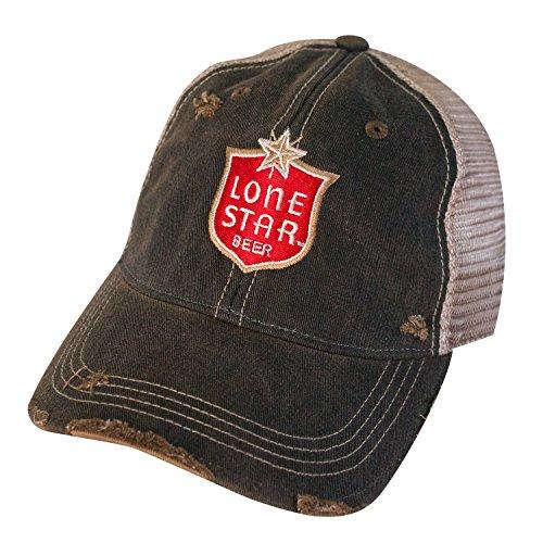 - Lone Star Beer Vintage Mesh Hat