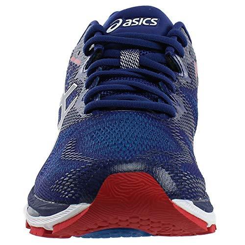 20 Chaussures Gel Pour Bleu Hommes Asics rouge nimbus® dtqwRC