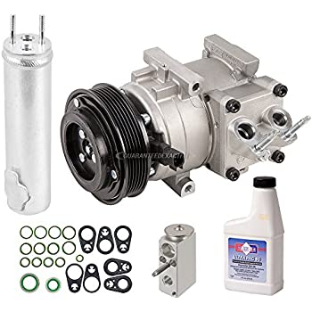 OEM AC Compressor w/A/C Repair Kit For Ford Fiesta 2011 2012 2013 - BuyAutoParts 60-84262RN New