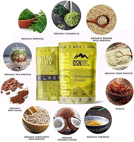 Organic Performance Protein - Proteína orgánica a base de ...