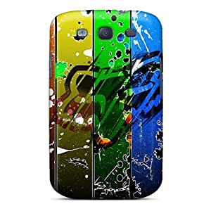 Fashionable XNx3684tIxX Galaxy S3 Case Cover For Fox Racing Abstract Protective Case