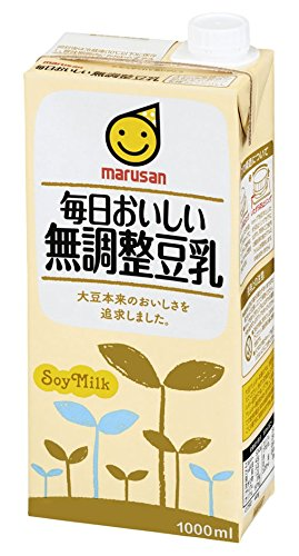Marsan 1000mlX6 this delicious adjustment-free soy milk every day by Marsan eye
