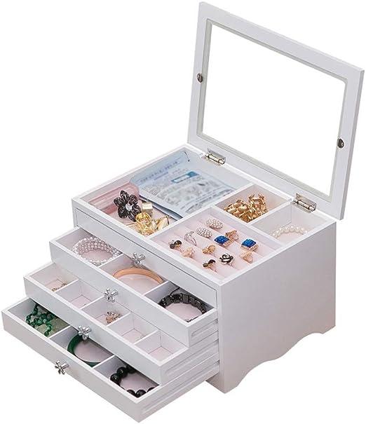Tmpty Jewellery Box Caja Joyero De Joyas For con Organizador ...