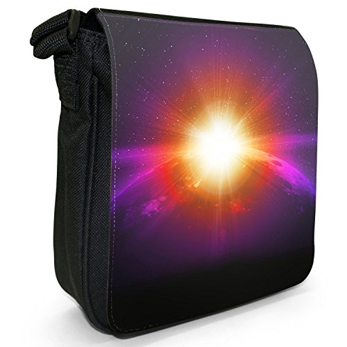 Snuggle In Borsa Exploration Small nbsp; Black Tela A Fancy Space OnxUqwPx5