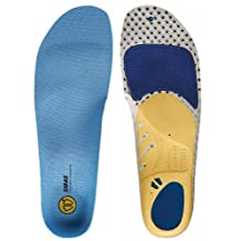 Sidas Run 3D Insoles, Blue, Large (Mens-9 to 10/Womens-10 to 11) by Sidas