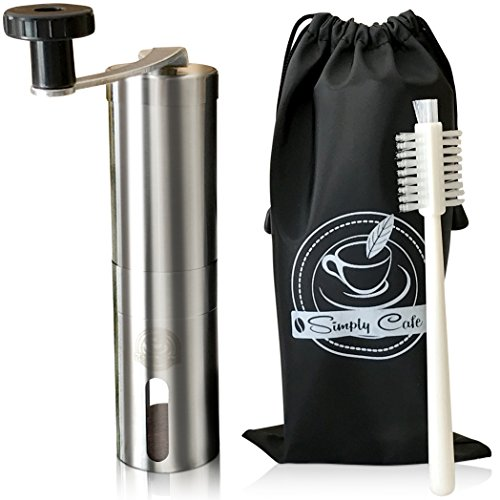 simply-cafe-manual-coffee-grinder-with-cleaning-brush-and-travel-bag