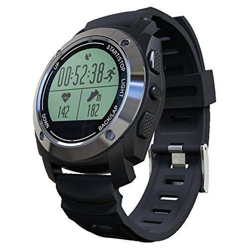 Rookee Smart Watch S928 - Built-in GPS For Outdoor Sports, Bluetooth Connection,...