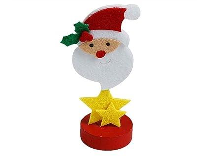 Alicate notas soporte fotos Navidad Santa Claus Ornements ...