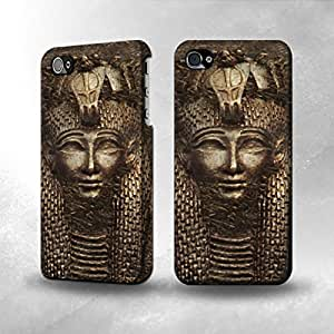 Apple iPhone 4/4S Case - The Best 3D Full Wrap iPhone Case - Antique Eyptian Pharaoh