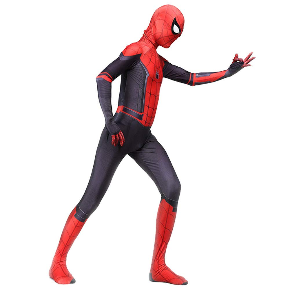 KN Halloween Cosplay Toddler Kids Spider Verse Miles Morales Gwen Jumpsuit Bodysuit Spider Tights Zentai Costume