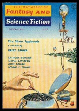 The Magazine of Fantasy and Science Fiction January, 1959: Explorers We, Ferman, Edward L. (editor) (Philip K. Dick; Anthony Boucher; Avram Davidson; Fri