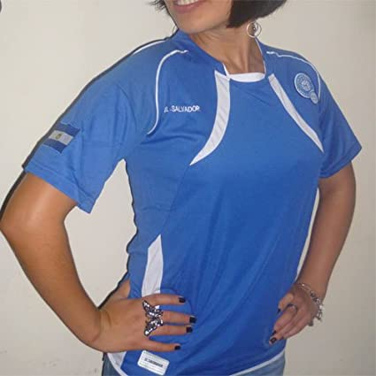 Amazon.com: EL SALVADOR A JERSEY SOCCER T-SHIRT FUTBOL UNISEX Sizes XL, L, M, S: Sports & Outdoors