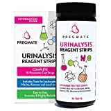 PREGMATE 50 Urinary Tract Infection UTI Test Strips 10 Parameter Leukocytes Nitrite And More (50 Tests)