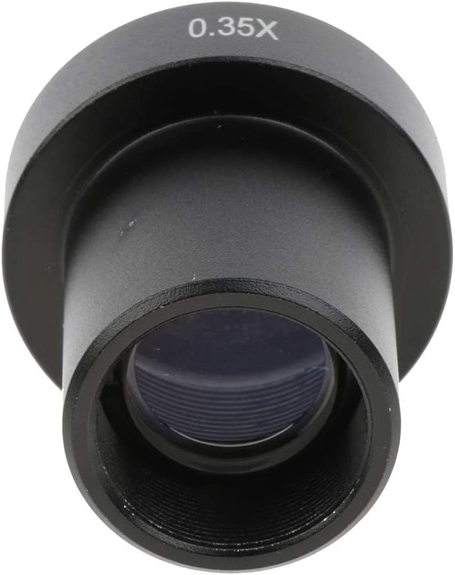 0.35X C-Mount Lens Microscope Adapter for CCD Cameras Digital Eyepiece,Lens