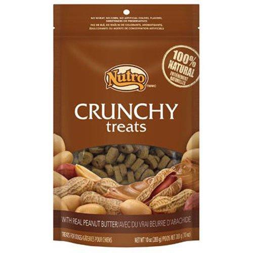 Choice Peanut (NUTRO Crunchy Treats With Real Peanut Butter - 10 oz. (283)