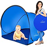 Campela Baby Beach Tent Beach Shelter Beach Cabana pop up Beach Shade pop up Sun Shelter pop up. Portable Great Tent for the Beach!