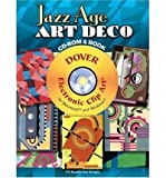 img - for Jazz Age Art Deco CD-ROM and Book (Dover Electronic Clip Art) (Paperback) - Common book / textbook / text book