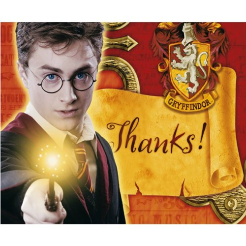 Harry Potter Order of the Phoenix Thank You Note card and USPS Postage - Order Usps