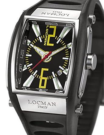Locman 026100bknyl5bkk _ WT Unisex Armbanduhr