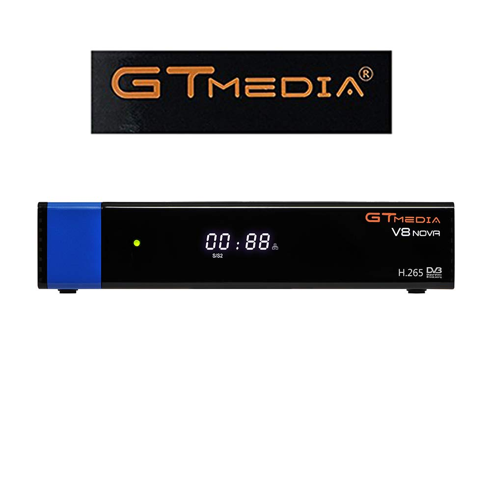 GTMedia V8 Nova DVB S2 TV ricevitore satellitare satellite decoder Support 1080P Full HD PowerVu Biss