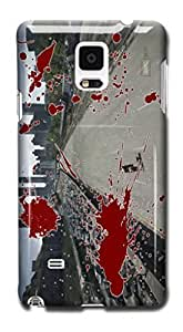 Tomhousomick Custom Design The Walking Dead Case for Samsung Galaxy Note 4 Phone Case Cover WANGJING JINDA