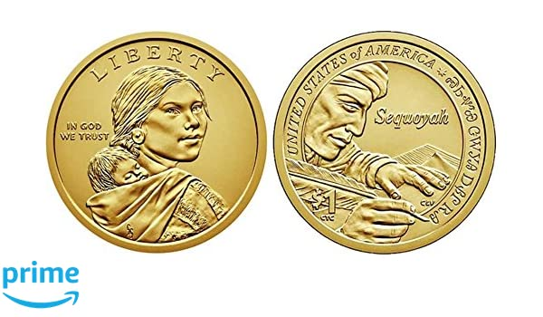 2017-P SACAGAWEA// NATIVE AMERICAN DOLLAR UNCIRCULATED FROM US MINT ROLL