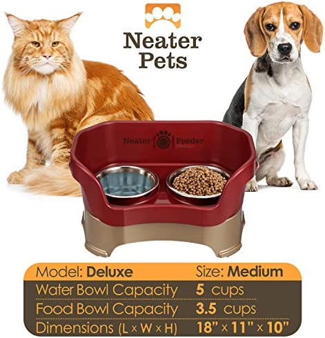 51yY477DXiL. AC - Neater Pet Brands - Neater Feeder Deluxe Dog And Cat Variations And Colors