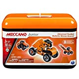 Meccano-Erector Junior Advanced Toolbox, 8 Model Building Kit