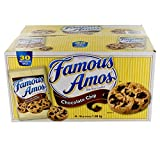 Famous Amos Chocolate Chip Bite Size Cookies - 30 x 56 g pouches / 1.68 kg