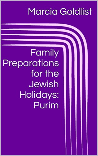 Family Preparations for the Jewish Holidays: -