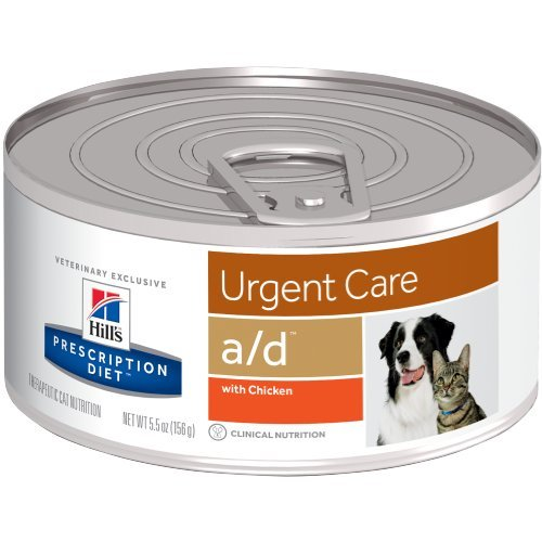 Hill's Prescription Diet a/d Urgent Care with Chicken Canned Dog & Cat Food 24/5.5 oz