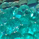 Turquoise Water Gel Beads Pearls 1 Pound for Vase Filler, Candles, Wedding Centerpiece, Home Decoration, Plants, Toys, Education. Makes 12 Gallons