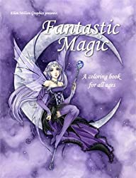 Fantastic Magic Coloring Book
