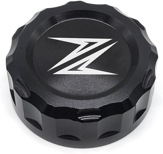 Z300 Z650 Z900 Z800 Z750 Z1000 Motorrad Bremse Hintere Bremsflüssigkeitsbehälter Kappe Für Kawasaki Z300 2016 Z650 2017 2018 Z900 2017 2018 Z800 2013 2017 Z750 R 2006 2010 Z1000 2007 2016 Schwarz Auto