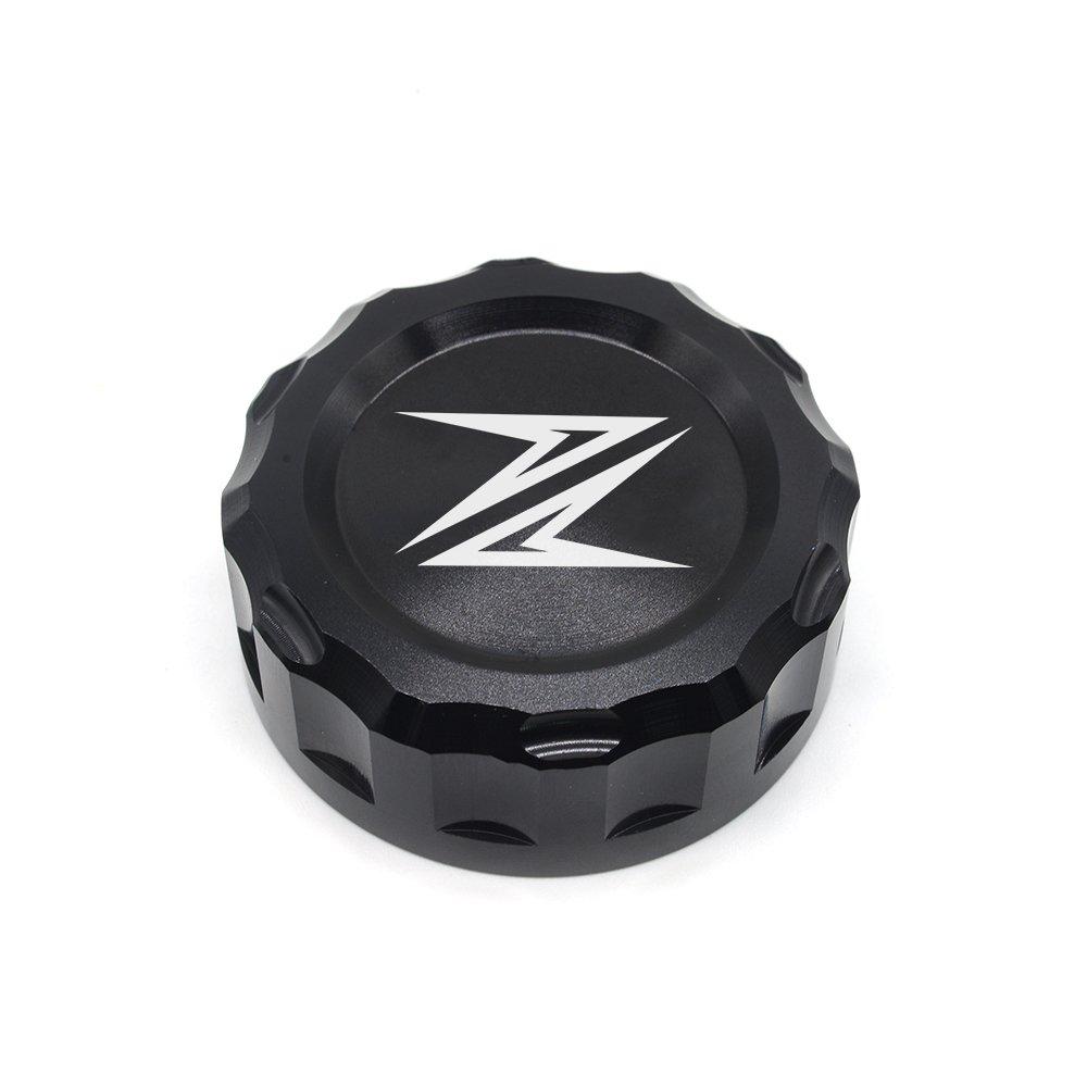 Motorcycle Tapa del Dep/ósito de L/íquido Trasero Tapa del Dep/ósitos de fluidos de Freno para Kawasaki Z300 2016 Z650 Z900 2017 2018 Z800 2013-2017 Z750 R 2006-2010 Z1000 2007-2016 Rojo